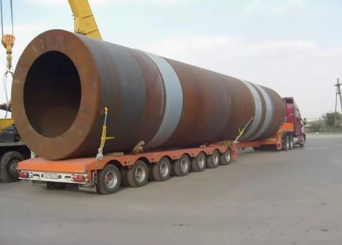 Перевозка труб больших диаметров тралами и площадками - Горно-Алтайск, цены, предложения специалистов
